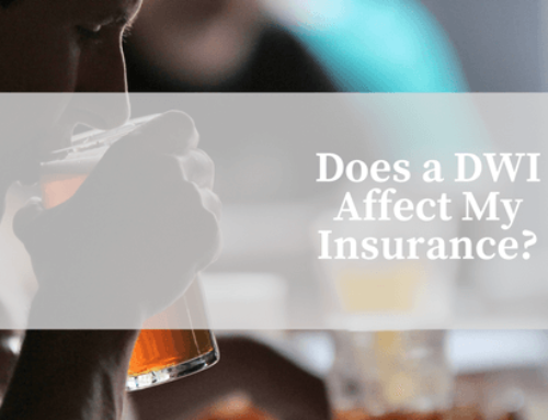 Does a DWI Affect My Insurance?