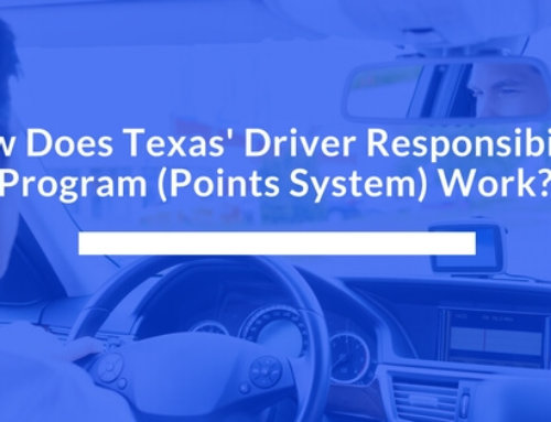 How Does Texas' Driver Responsibility Program (Points System) Work?
